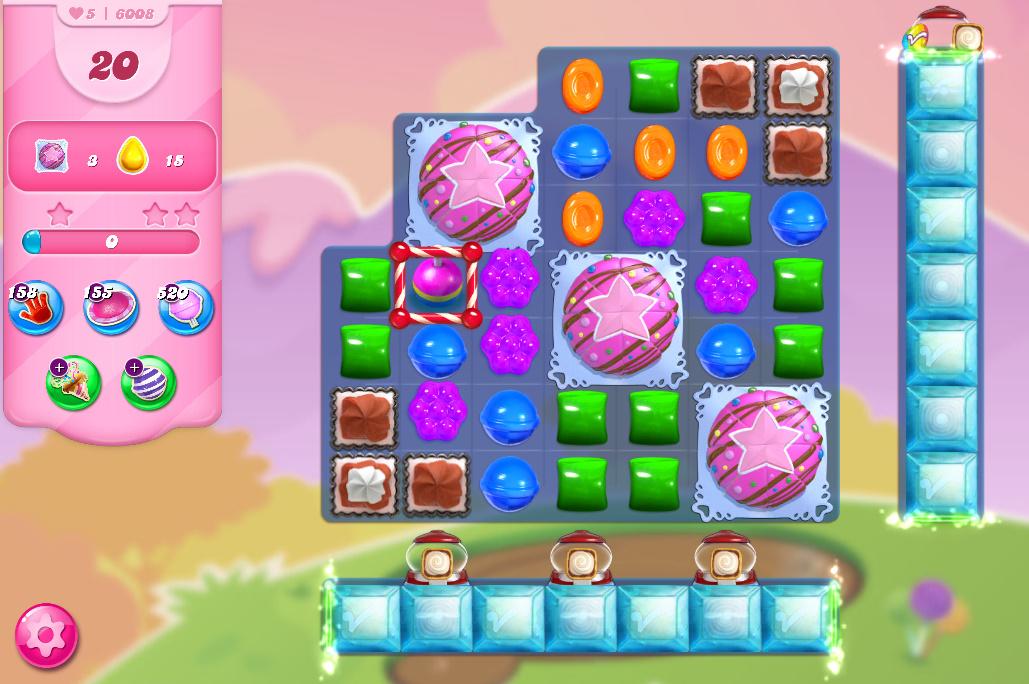 Candy Crush Saga level 6008