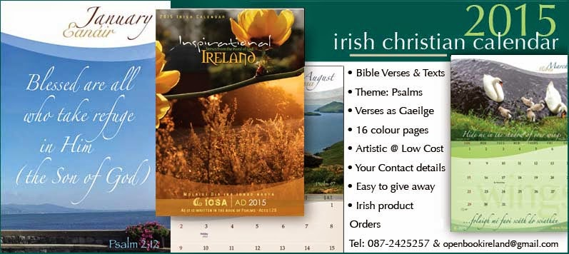 Irish Christian Calendar 2015 preview
