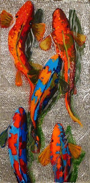 Art of the Day - Frank Hyder www.toyastales.blogspot.com #ToyasTales #FrankHyder #fish