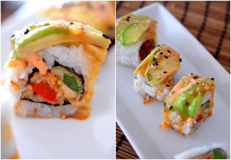 Vegetarisches Sushi Schwangerschaft