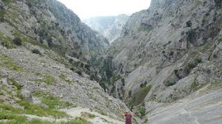 Parque Natural de los Picos de Europa. Ruta del Cares.