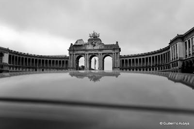Parc du Cinquantenaire (Bruxelles, Belgique), by Guillermo Aldaya / AldayaPhoto