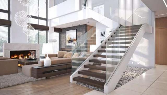 tangga rumah tinggal