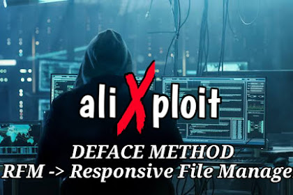deface methode Responsive File manager