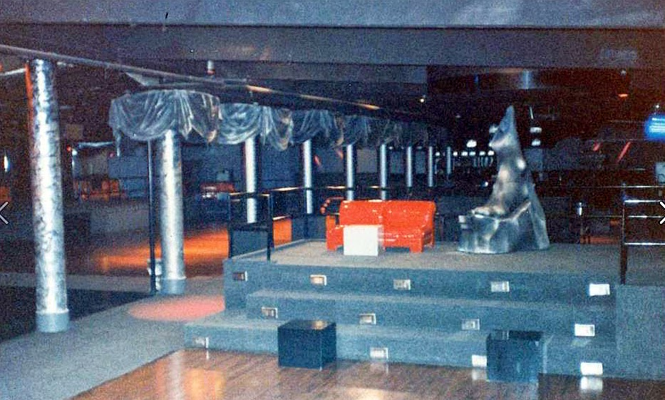 Inside The Malibu night club in Lido Beach Long Island, New York