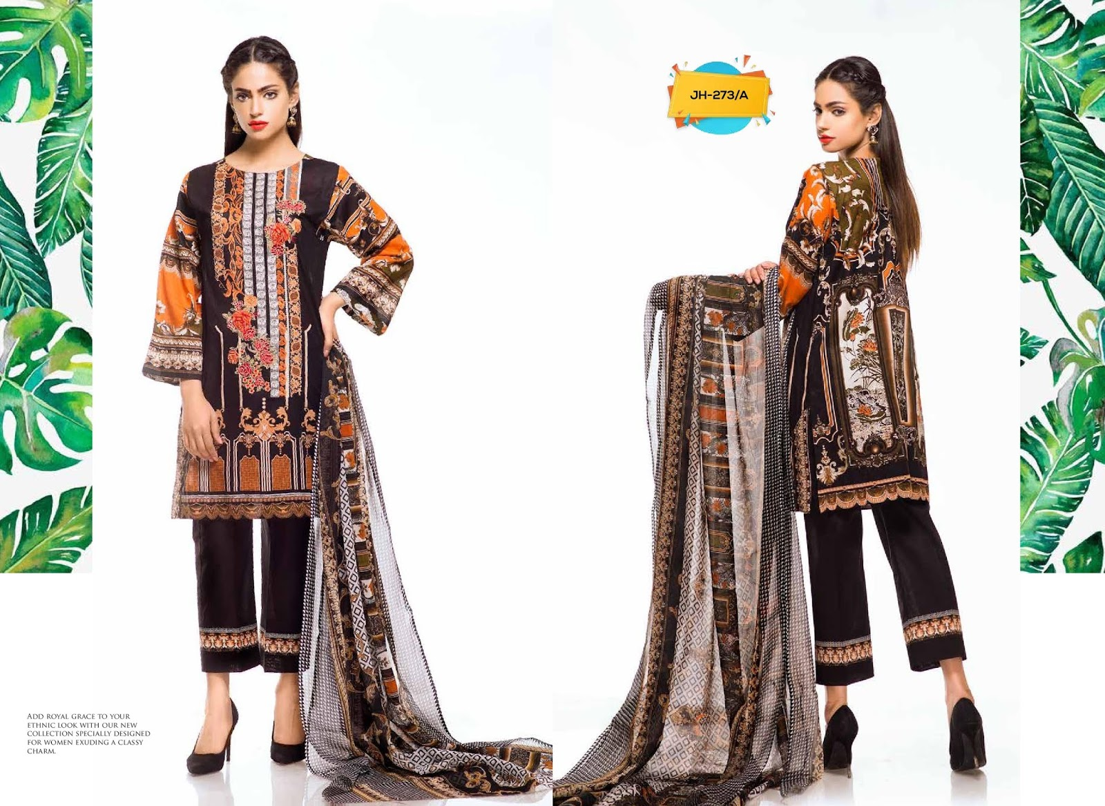 790f192239 4Seasons Fashion: Johra Pearl Embroidered Lawn Collection 2019