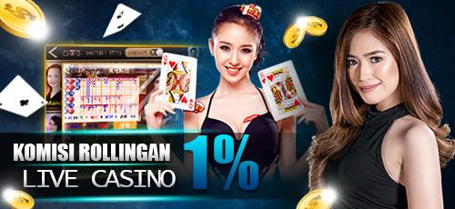 Dapatkan Bonus Rebate Mingguan Casino Online 1% di IOGSPORT