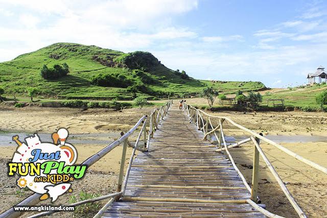 jembatan bambu lombok