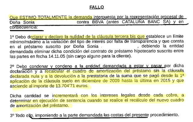 Cl usula suelo elimina ya la cl usula suelo de tu hipoteca for Reclamacion hipoteca suelo