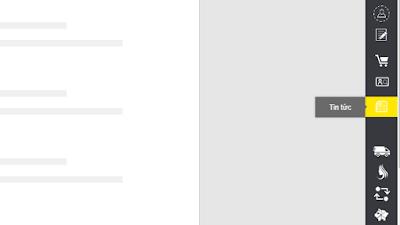 Tạo thanh công cụ cố định bên phải với hiệu ứng tuyệt đẹp cho Blogspot