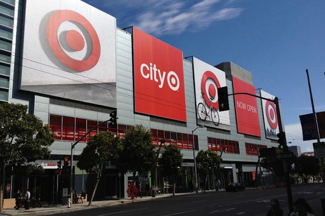 Supermercado Target em San Francisco na Califórnia