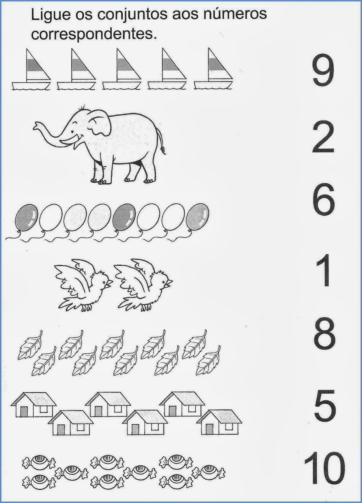 Educar X Atividades Numerais Alfabetizacao