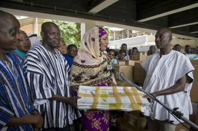 Second Lady donates medical equipment to Tamale Teaching Hospital