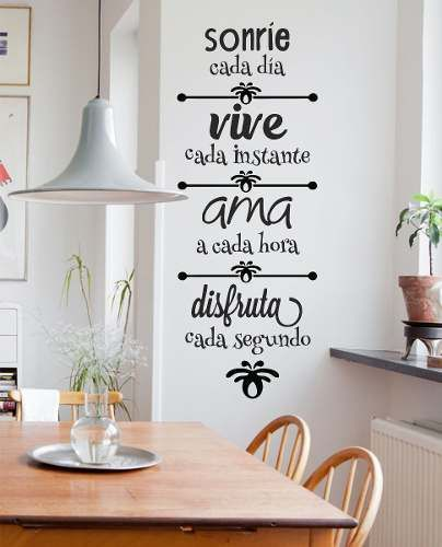 Vinilos, una bonita forma de decorar tus paredes