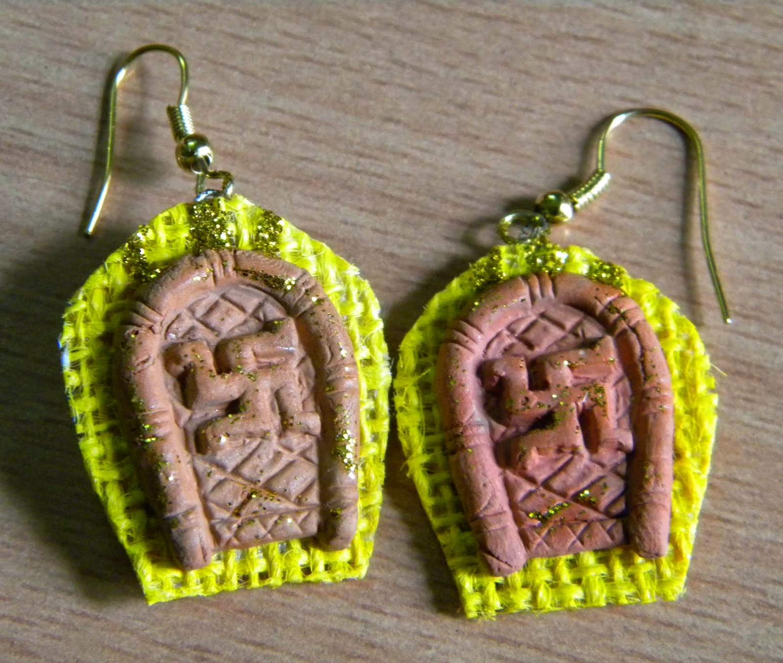 fashion jewellery, handmade earring, handmade jewellery, jute earring, jute jewellery, terracotta earring, trendy earring,