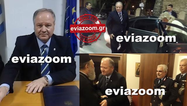 Εύβοια: Καρέ–καρέ η επίσκεψη του Αρχηγού της Ελληνικής Αστυνομίας στην Χαλκίδα - Αποκλειστικές Εικόνες και Βίντεο