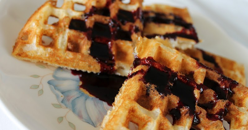 What A Dish!: Maple Blueberry Syrup