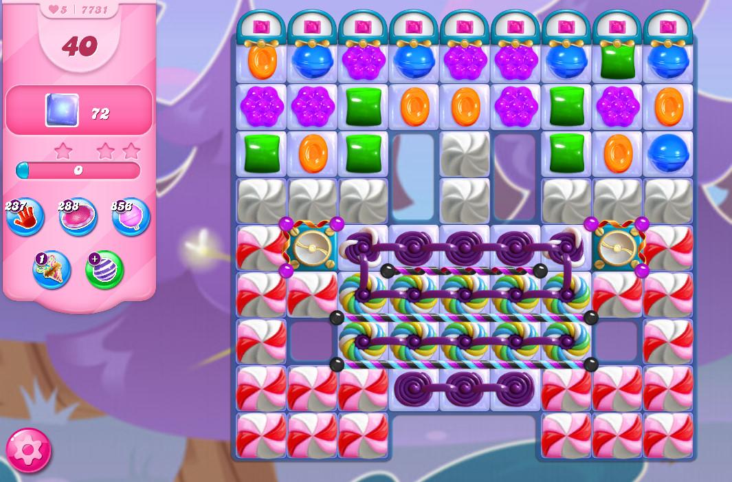 Candy Crush Saga level 7731