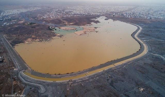 3 ولايات تسجل 100 ملم من الأمطار والسدود تحتجز 42 مليون متر مكعب