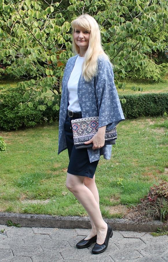 Heidi´s Seite : Kimono-Jacke Kylie und warum es manches mal Pumps ...