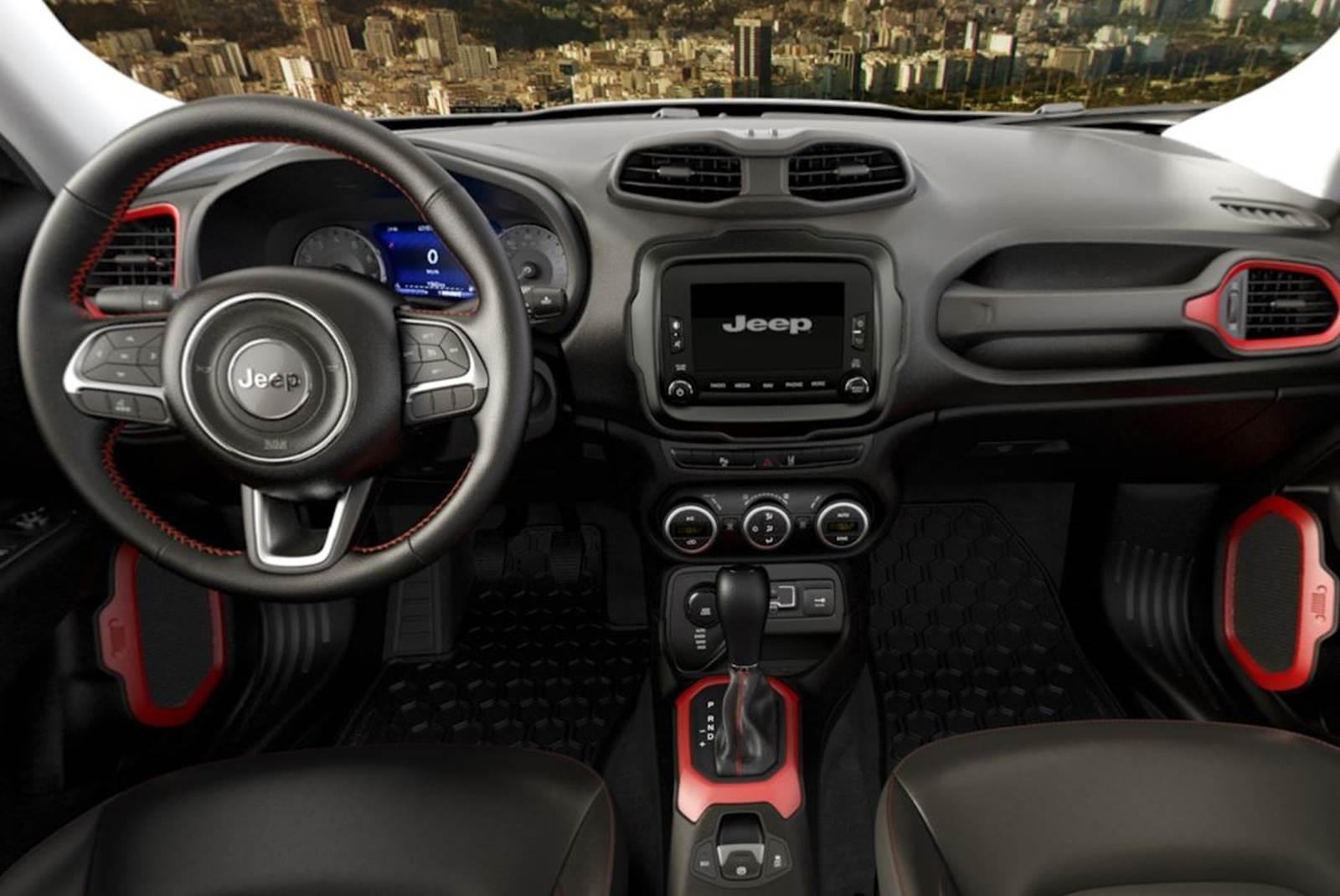 Jeep renegade no brasil j tem configurador on line car for Interno jeep renegade