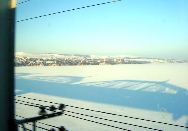 Вид на Волгу с Александровского моста