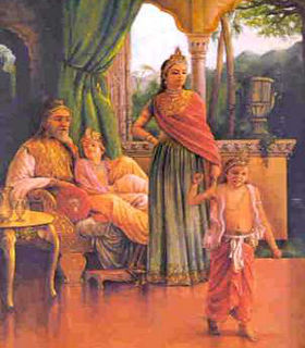 Dhruva, Determined Kid, #A to Z Challenge, #BlogChatterA2Z, #AtoZ2019, #A2Z2019, shravmusingswrites, Indian Mythology