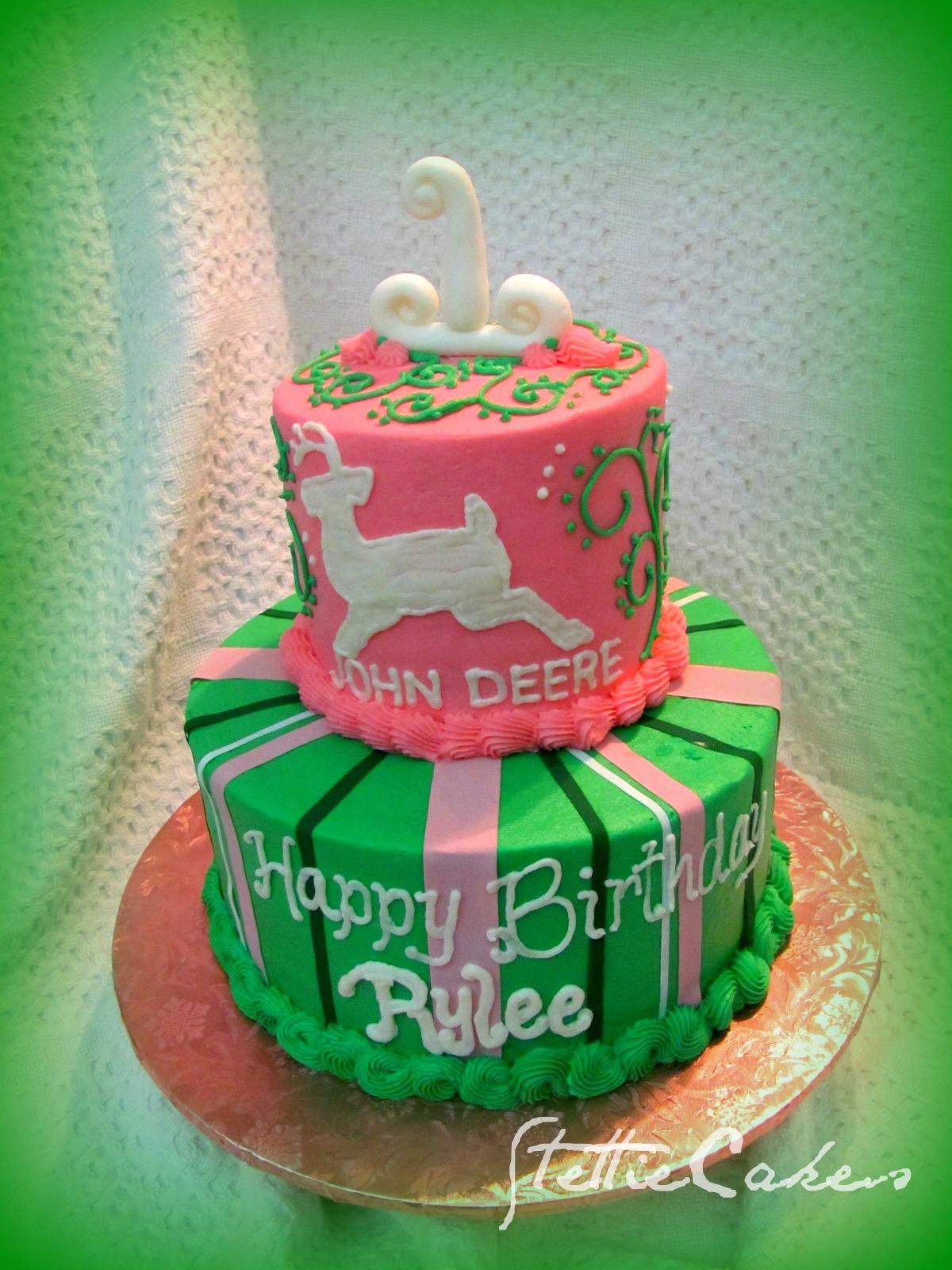 Stettie Cakes John Deere Girl