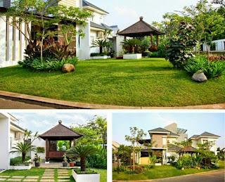 Tukang taman surabaya - taman tropis 2