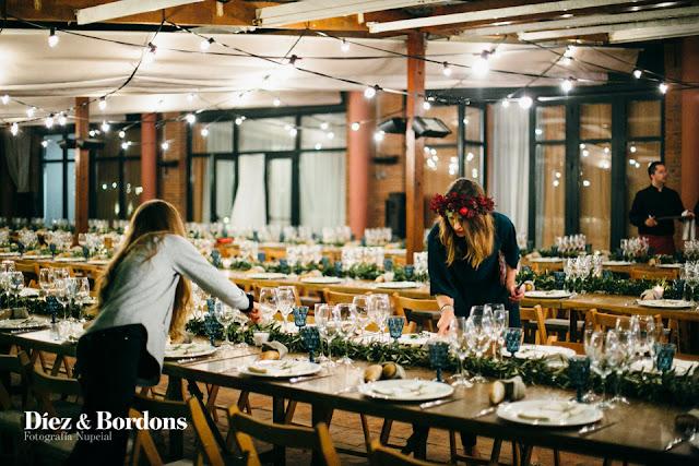mesa boda ricard & anna