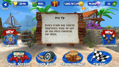 Cheat Beach Buggy Race 1 Milyar Koin