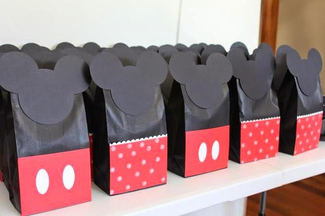 d62f801a3 Mickey y Minnie: bolsas de regalos, sorpresas, souvenires, recuerditos.