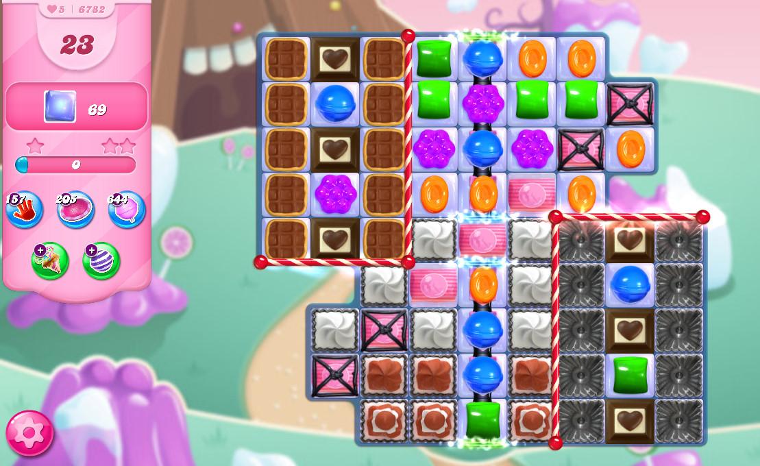 Candy Crush Saga level 6782