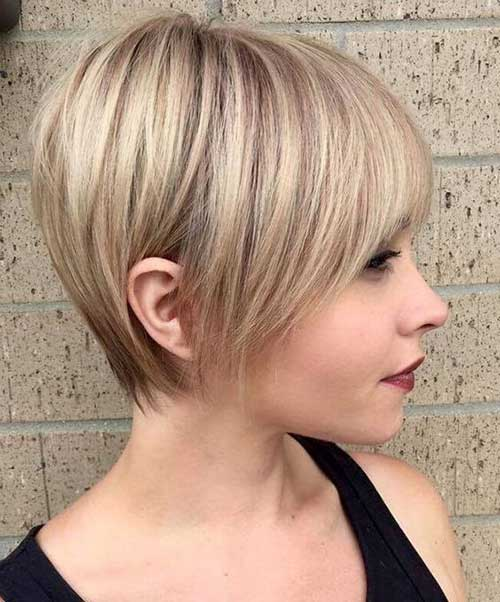 Short Hairstyles with Fine Hair 2019 - LatestHairstylePedia.com