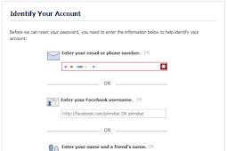 Recover Facebook