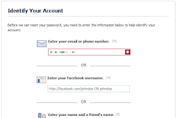 Facebook Recover Account