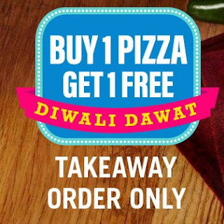 [Diwali Exclusive] Domino's -  Buy 1 Get 1 Free Offer On TakeAway