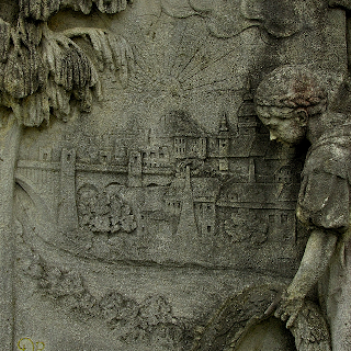 Symbols at the cemeteries of Europe