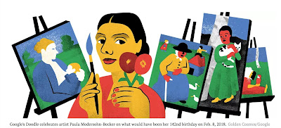 A Tribute to Paula Modersohn-Becker on her Birthday