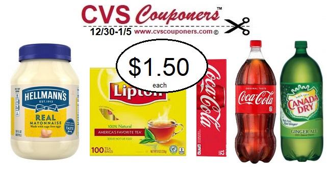 http://www.cvscouponers.com/2018/12/lipton-hellmanns-coke-cvs-deals.html