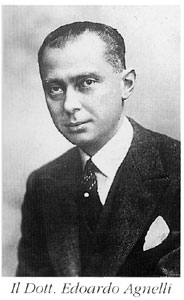 Edoardo Agnelli, grandfather of Andrea, ran Juventus in the 1930s