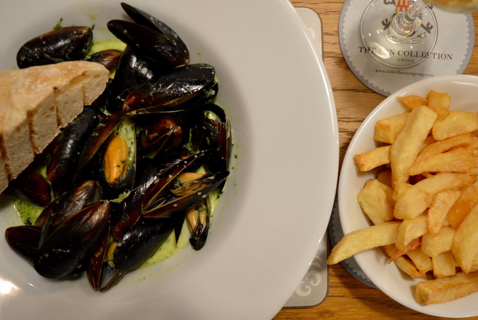 The Kingslodge Inn, Durham | A Review - A lovely budget hotel near the train station and city centre - mussels in white wine sauce