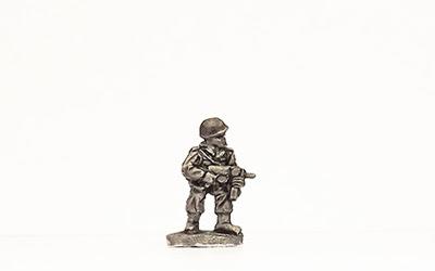 KSK4   Standing, firing M3 SMG