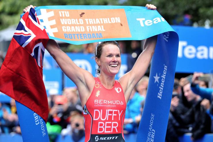 Flora Duffy campeona de la World Triathlon Series 2017