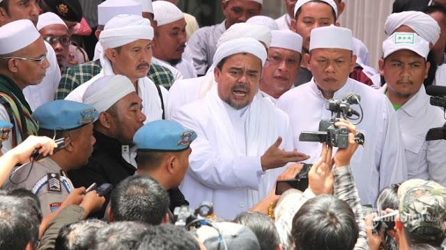 Habib Rizieq: Kita Injak Semut, Semutpun Sekarang Digiring Polisi untuk Melaporkan