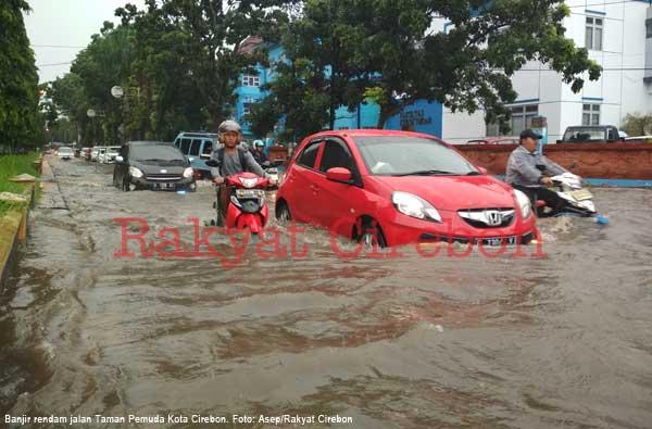 kota cirebon kembali direndam banjir