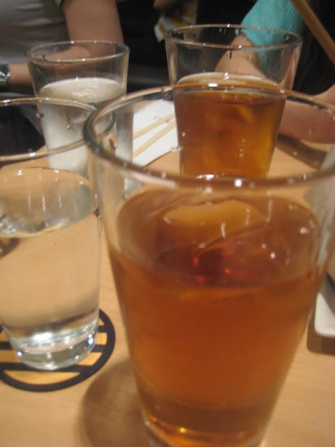 yabu house of katsu-rice tea