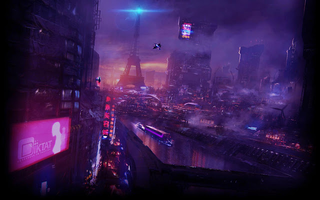 Cyberpunk Neo Paris Live Wallpaper Engine