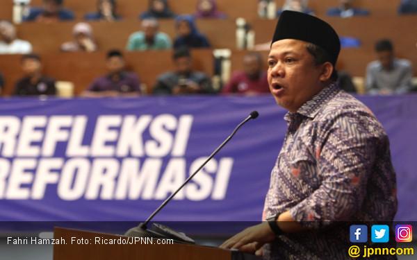 Fahri Hamzah: Hentikan Pola Lama Membayar Loyalis Jokowi