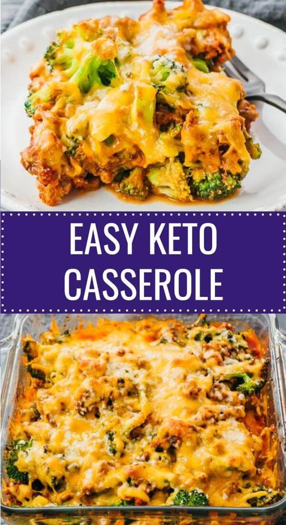 This is a delicious keto casserole dinner with ground beef, broccoli, and tomato sauce. Kind of tastes like a cross between a hamburger or cheeseburger and lasagna. It's a very easy recipe that works well for low carb and Lchf diets, and easy and simple enough to make ahead of time. Great for families and kid friendly. Click the pin to find the recipe, nutrition facts, cooking tips, & more photos. #healthy #healthyrecipes #lowcarb #keto #ketorecipes #glutenfree #dinner